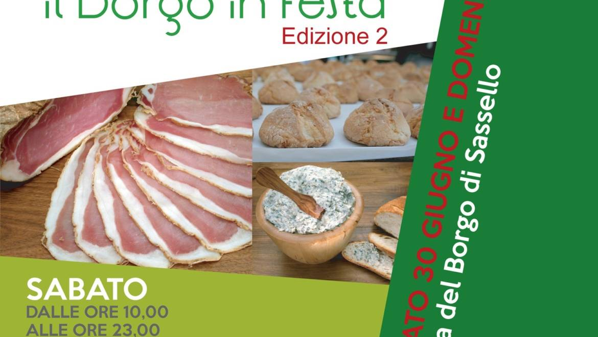 Il borgo in festa – 2nd edition