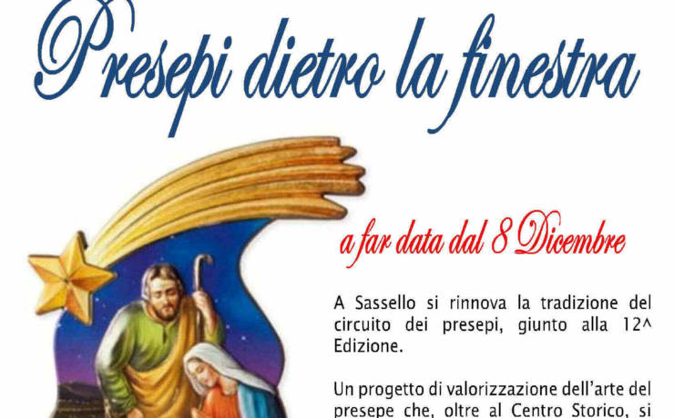 XII edizione dei Presepi dietro la finestra